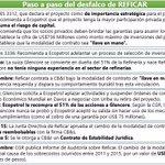 """Uribe reconoce q violó 2Conpes y trasladó riesgos/sobrecostos #Reficar al Estado y dice""""Conpes son solo indicativos"""" https://t.co/B2YXKQGaPb"""