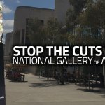 NGA to loose 8.5% of staff through @TurnbullMalcolm senseless funding cuts? This is madness. https://t.co/f3HmcnR108