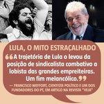 """""""Um fim melancólico"""", do artigo Lula: o mito estraçalhado, na revista @VEJA - https://t.co/ifVWirvr1q https://t.co/IiOCNiwtgk"""