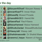 Top mentions 3 May 2016: 1 @MaryamNSharif 2 @ImranKhanPTI 3 @MoeedNj 4 @HamidMirGEO 5 @KlasraRauf - #PTI #PMLN #PPP https://t.co/AnjxSJp6LP