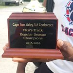 FTS Mens Track and Field 2016 Cape Fear Valley Champs!!!🏆 @FTSATHLETICS https://t.co/XdjeG4CuUv