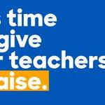 Our teachers deserve more than just a pat on the back. They deserve a raise. #TeacherAppreciationDay https://t.co/0sgmUFg6mX
