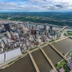 I dont think have a favorite view of #Pittsburgh, but the aerial view during a beautiful spring sunset is close! https://t.co/07H8wBJZOn