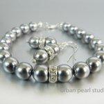 Dark Gray Pearl Bracelet Earrings Bridesmaid Jewelry Set, Mercury … https://t.co/SlkAcIR63Q #jewelryonetsy #etsymntt https://t.co/3o8PNcQp32