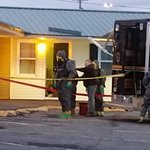 MDEA agents enter room at Village Green Motel in Brewer to remove Meth Lab @FoxABCMaine https://t.co/Kaern9hQX5