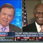 "LIVE: @THEHermanCain on #LouDobbsTonight ""Cruz threw a hail mary w/ Fiorina"" #IndianaPrimary #MakeAmericaGreatAgain https://t.co/GeYGmAfckJ"