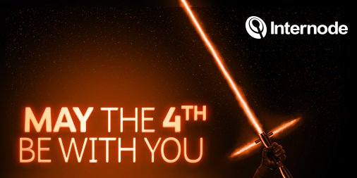 Happy Star Wars Day - remember, the force will be with you, always https://t.co/mhhEQRSVUi