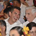 Con mi amigo el gobernador de Tabasco, @nunezarturo, en los eventos culturales de Jalpa de Méndez y Jalapa. https://t.co/QrjvVWESnz