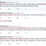 Ooops! Senate breaches own photo rules: #auspol https://t.co/V2wtQrZzrq