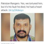 The world realising whats happening with #MQM workers in #Pakistan but Govt criminally silent! #RangersKilledAftab https://t.co/AM0Aa4XXxW