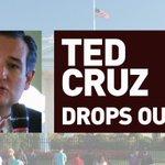#BREAKING: Texas Sen. Ted Cruz ends his bid for the presidency https://t.co/6dWeAmcgPE