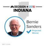 BREAKING: Bernie Sanders is projected winner in the Indiana Democratic primary https://t.co/oJEtAYmmM5 #Decision2016 https://t.co/mdP30yNU8w