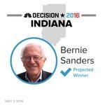BREAKING: Bernie Sanders is projected winner in the Indiana Democratic primary https://t.co/ERjKcrYnLd #Decision2016 https://t.co/hP8uar1XAM