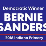 Multiple media outlets have projected Bernie Sanders the winner of the #Indiana Democratic primary. https://t.co/zrDVViwYgr