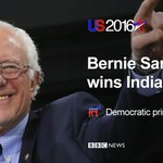 In a close Democratic contest, Bernie Sanders wins the Indiana primary https://t.co/Aw6Uc48U7t https://t.co/eOqp5TqGSS