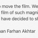 OFFICIAL STATEMENT on #Raees release date by Ritesh Sidhwani Shah Rukh Khan Farhan Akhtar https://t.co/wZ8CjPjbJi