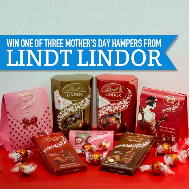 Retweet and WIN a @LindtSA hamper worth R500, just in time for #MothersDay. https://t.co/UrK8Lg0Rl7