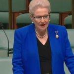 Bronwyn Bishop gives her final speech #auspol https://t.co/opOZG2AIWm