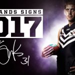 Aaron Sandilands has signed a one-year contract extension https://t.co/VOZLgzR5Wd #foreverfreo #sandisigns https://t.co/7U6GAtKXUh