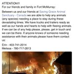 Animal assistance for those impacted by #ymmfire. #ymmhelps #ymm https://t.co/Gzd9fAF0Nc