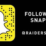 Tonight on @RAIDERS Snapchat: @LeonOrr @52Mack_ @BIrvin_WVU11 and @JeLLy_ThaDON are taking over at the Dubs game ???????? https://t.co/kEmaPHXQSY