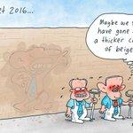 These days Malcolm Turnbull even sounds like Tony Abbott... #auspol #qt #Budget2016 @mdavidcartoons https://t.co/9SneynWvrv