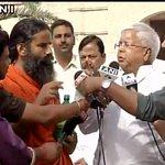 Delhi: Lalu Prasad Yadav meets Baba Ramdev, says People are jealous of Baba Ramdev because he is highly successful https://t.co/9jbpyw0Icb