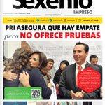 Hoy en #SexenioImpreso de #Puebla: PRI asegura que hay empate pero no ofrece pruebas https://t.co/atqjViFN04 https://t.co/GQjYwiFgQx