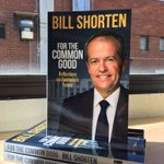 Bill Shorten has arrived in the office. The book will be in shops by this weekend. #auspol https://t.co/xQtoPzvTrp