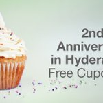 CELEBRATIONS!! #2Years in #Hyderabad!! Get cupcakes delivered to your doorstep, hit the BDAY icon on your Ola app https://t.co/tcjaukOiGm