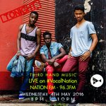 Catch us tonight on @NationFMKe from 8pm-10pm on #VocalNation!!! #InTheAir #3HandMusic https://t.co/fFXZKkgMrs