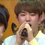 Our leaders are crying, Seventeens crying, Carats are crying too. ???????????? #PrettyU1stwin #Seventeen1stWin https://t.co/CXjgM84bgW