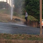 A little flooding starting on part of riverside drive @13wmaznews https://t.co/XNHQywHxxK