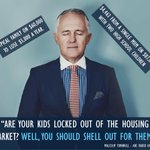 Good luck getting parents to shell out Malcolm, when youre taking everything they have. #auspol #budget2016 https://t.co/dbAeUIxyDh