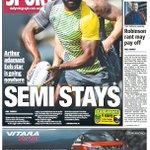 .@telegraph_sport back page. Good news for Parramatta Eels fans. Brad Arthur says Semi Radradra is going nowhere https://t.co/AGp6AxuPxe