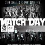 JOUR DE MATCH @FENIX_HB VS @USAMNIMESGARD 20.00 Palais des Sports #Toulouse #Gofenix @YoyoCROUZ https://t.co/O4bC8YcIuG
