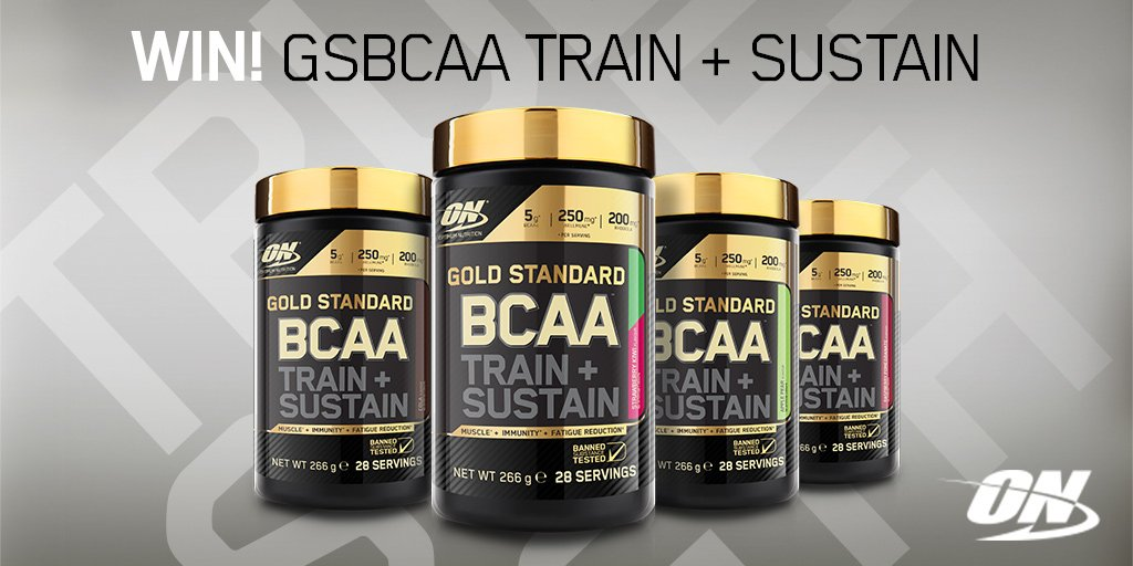 #RT & follow for your chance to #win our new #GoldBCAA We're giving away a tub everyday this week! #TeamON https://t.co/FZQhcZptGm