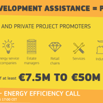 #askEASME chat on #Funding to develop your sustainable #energy projects w/PDA 20/05 11:00CET https://t.co/w1DBnuuFkP https://t.co/kfhC8VXOPq