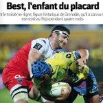 Pleine page dans @lequipe lannée où je joue le moins. Merci à @FLaberne! https://t.co/3rBlLes6N3