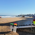 Good morning #Biarritz ! A 10h il fait 11C. La plage finit dêtre nettoyée. Commencent les cours de #surf. https://t.co/QFpd6qZ9wV