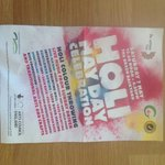 Holi May Day celebration @greenbackyard @PboroPresents Saturday sorted! https://t.co/SjGp3pNvQF