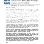 Kenyataan Media Persatuan Penulis Sukan Msia (SAM) Persoalkan Isu Penghapusan Tiket Kanak-Kanak Pada Final Piala FA https://t.co/btx6wKrMoa