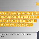Es wird einsam um Merkel&Gabriel: Siemens-Chef Kaeser braucht #TTIP nicht, Mittelstand mehrheitlich auch nicht,... https://t.co/BujVnjQ8wG