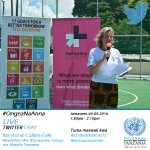 Live Chat with @annaunwomen on #Goal5 #OngeaNaAnna #MalengoYaDunia @UN_Women @UnitedNationsTZ TODAY at 1:30pm EAT https://t.co/EZkTO8EpMj