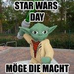 #MayThe4thBeWithYou Happy Star Wars Day! Möge die Macht mit Euch sein. https://t.co/7c0wkcixTx