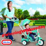 #WinningWednesday Follow and RT to #WIN a Perfect Fit 4 in 1 Teal Trike! #Competition closes midnight on 04.05.16. https://t.co/u3EqitPvS4