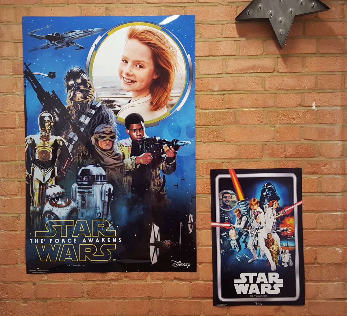 Happy #StarWarsDay! RT for a chance to win your very own movie poster #Maythe4thbewithyou ends 23.59 04/05 https://t.co/y1wdGpw54U
