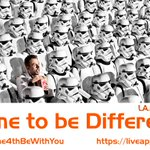 May the Fourth be with You - Time to be Different! - https://t.co/NMqdJV9Tki - #MayThe4thBeWithYou https://t.co/O2QxfX8ohO