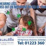 #Deaf Awareness Week, were offering #FREE hearing assessments to #Cambridge #Peterborough #Saffronwalden residents. https://t.co/TLtWKQjLM5