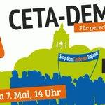 #CETA ist die Blaupause für #TTIP. Kommt am Samstag zur Demo! Alle Infos hier: https://t.co/maSoBtfW1E https://t.co/ZNwaOPj8v0